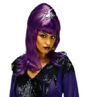 Spider Lady Wig Purple (6198)
